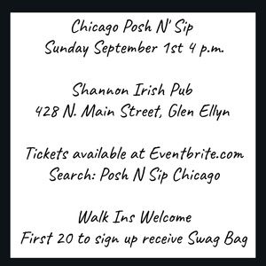 Tory Burch Bags - TIX AVAILABLE NOW!    Posh N Sip Chicago Sept 1st